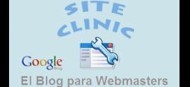 Google Webmaster Site Clinic