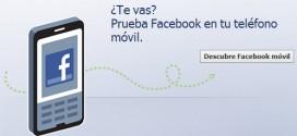 Facebook en tu móvil