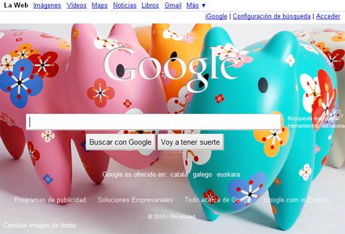Fondos personalizables Google