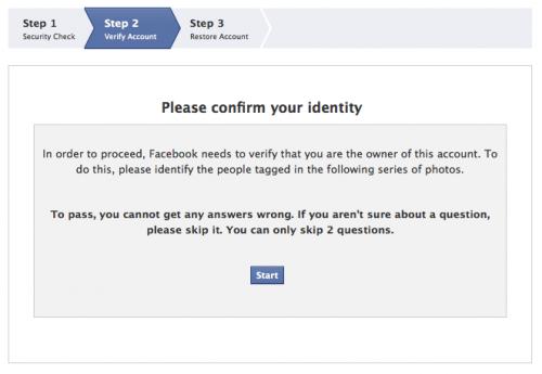 www.insidefacebook.com: Facebook - Confirm Your Identity