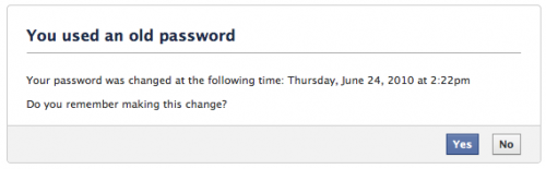 www.insidefacebook.com: Facebook - Old Password