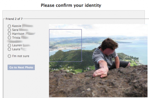 www.insidefacebook.com: Facebook - Confirm Identity Photos Blurred