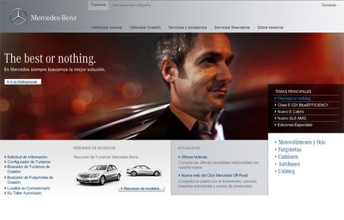 The best or nothing, Lo mejor o nada de Mercedes-Benz