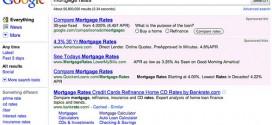 Búsqueda en Google por Mortgage Rates