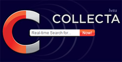 Collecta: Buscando la web a tiempo real