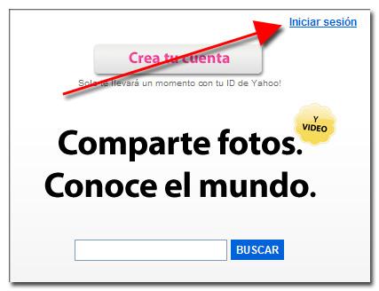 Crear cuenta Flickr con OpenID utilizando una cuenta de Google