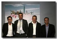 CityMarketing 2010 - Miguel Lloret, Enrique Dans, Ramón Rautenstrauch y Albert Barra.