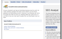 Facebook busca analista SEO para su oficina central en Palo Alto