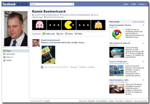 Nuevo perfil de Facebook - personalizaciones