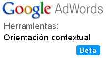 Herramienta de orientación contextual de Google AdWords