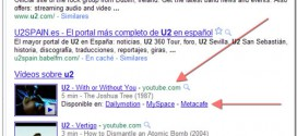 Búsqueda vídeos Youtube y alternativas en Google