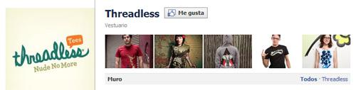 Galería imágenes Facebook: Threadless
