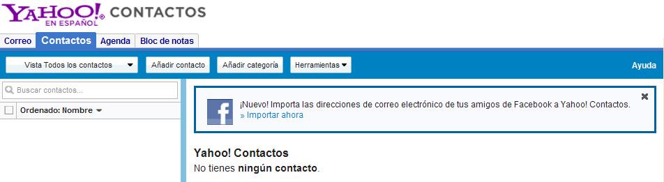 Exportar contactos Facebook con dirección email 01