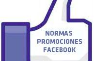 Normas promociones Facebook