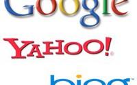 Google, Yahoo!, Bing