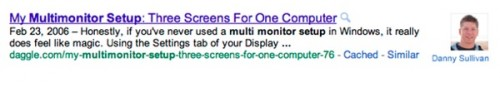 Google Starts Showing Content Authors In Search Results