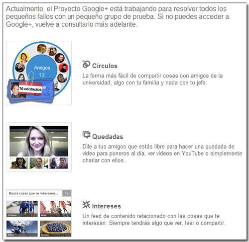 Google+ Invitación