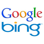 Logo Google y Bing