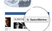 Facebook - Botón Suscribirme