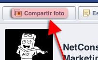 Como subir una foto a una página de Facebook desde el iPhone o iPad