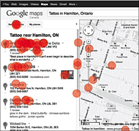 Nuevo estudio de Eye-Tracking en Google Maps 2