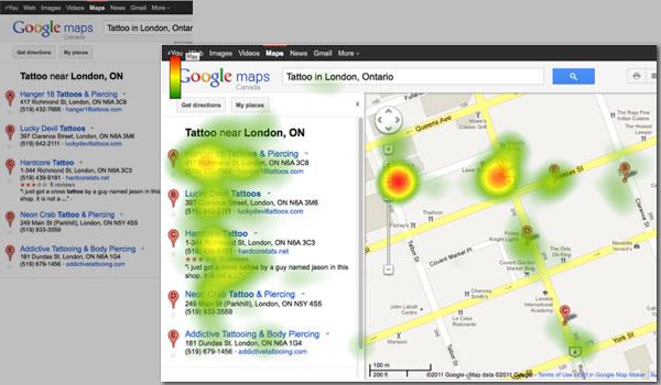 Nuevo estudio de Eye-Tracking en Google Maps 3