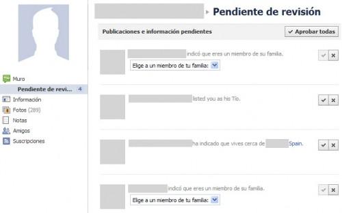 Facebook: Revisión de Perfil 02
