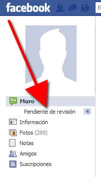 Facebook: Revisión de Perfil