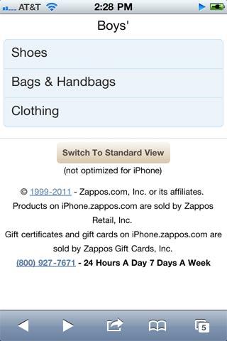 Zappos: Diseño web para móviles - 10 lecciones - Lección 8