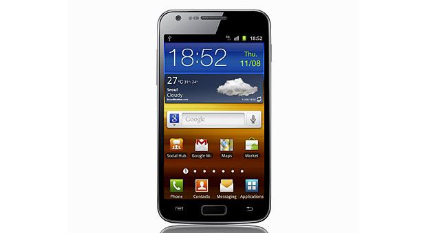 SmartPhone: Samsung Galaxy SII