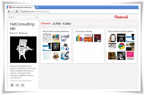 NetConsulting Marketing en Pinterest: http://pinterest.com/netconsultingmk/