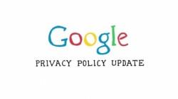 Google Privacy Update