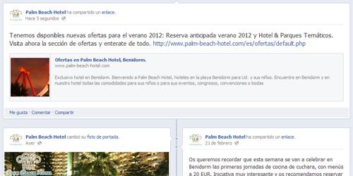 Publicación destaca en Facebook