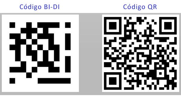 Códigos QR y Códigos BIDI
