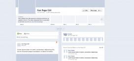 Plantilla para PhotoShop de los perfiles Timeline de Facebook