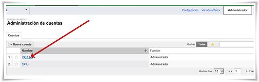 Enlazar Google AdWords con Google Analytics - Paso 05 de 10