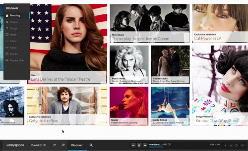 "myspace vuelve y con fuerza: ""the new myspace"""