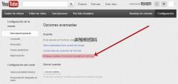 Desvincular YouTube y Google+ 3/3