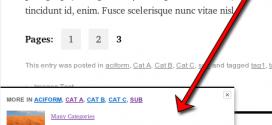 Plugin WordPress: upPrev