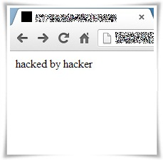 WordPress hacked by hacker