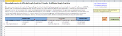 Etiquetado masivo de URLs con Excel