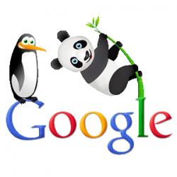 Google Panda - Penguin LOGO