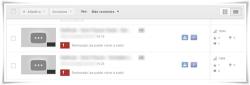 YouTube: Video rechazado