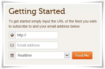 logtrottr que nos permite introducir un feed RSS, un email y la periodicidad en la cual queremos recibir los emails