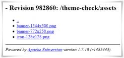 Icono en assets para nueva búsqueda de plugins