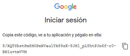 Código para autenticar el acceso de Search Console R a Google Search Console