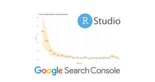 Cálculo del CTR orgánico en Google por posiciones con datos de Google Search Console