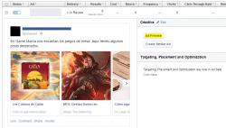 Publica un anuncio de carrusel de Facebook como post normal