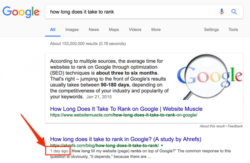 Cómo posicionar una página en la primera posición de Google en un día