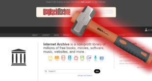 Cómo eliminar una web de ▷ archive.org